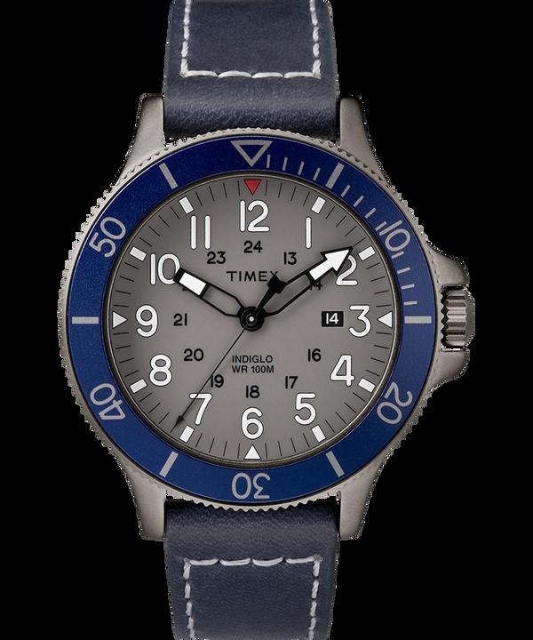 Allied Coastline 43mm Leather Watch  large