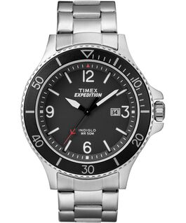 Expedition Ranger 43mm Stainless Steel Watch IP-Steel/Silver-Tone/Black large