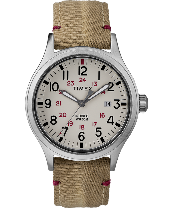 Allied 40mm Fabric Strap Watch  large