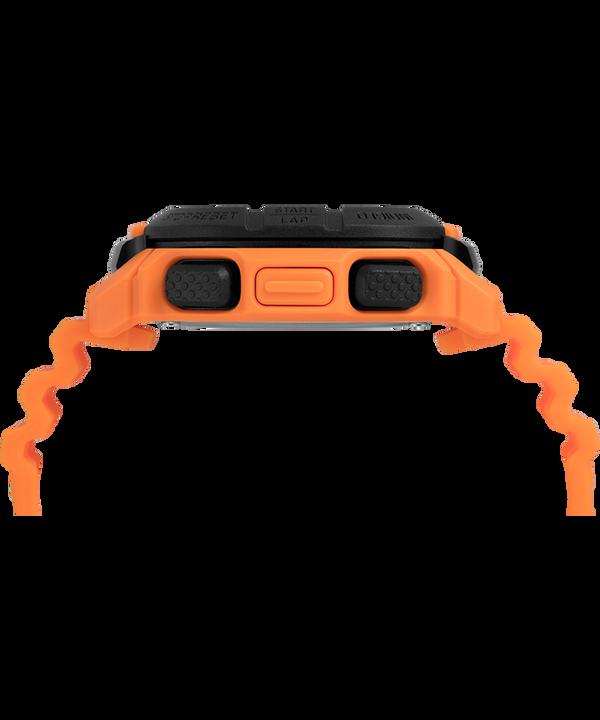 Command™ 47mm Silicone Strap Watch Orange/Black large