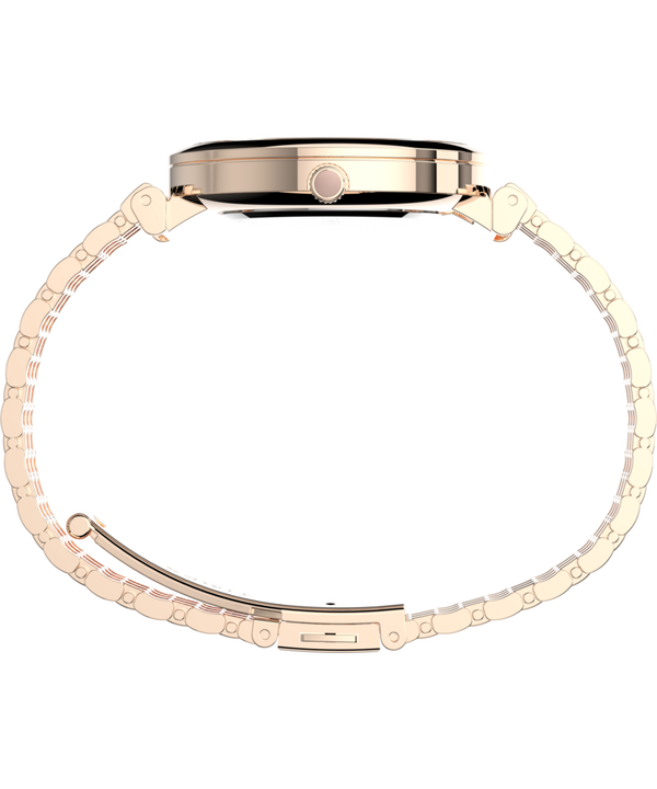 Parisienne 35mm Stainless Steel Bracelet Watch Rose-Gold-Tone/Mother-of-Pearl large