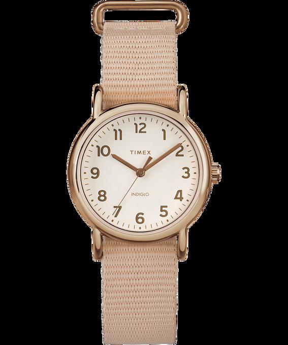 Weekender 31mm Nylon Strap Watch Rose-Gold-Tone/Pink/Cream large