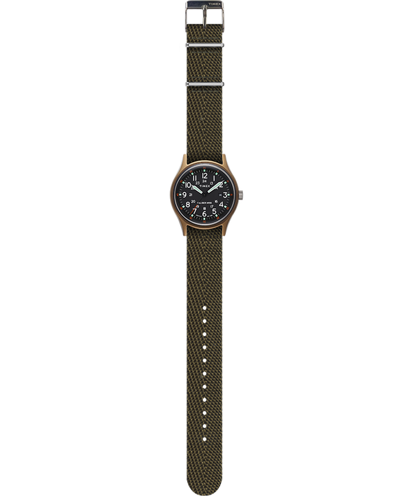 MK1 40mm Fabric Style Watch Green large