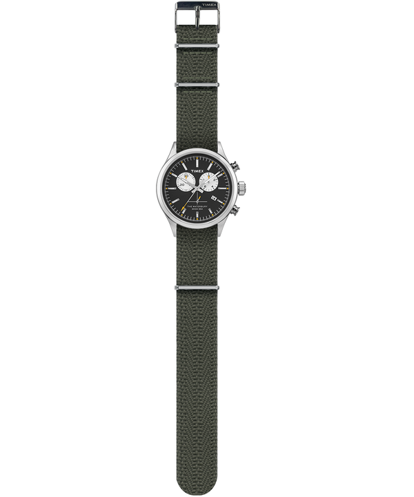 Waterbury Chronograph 42mm Grosgrain Strap Watch  large