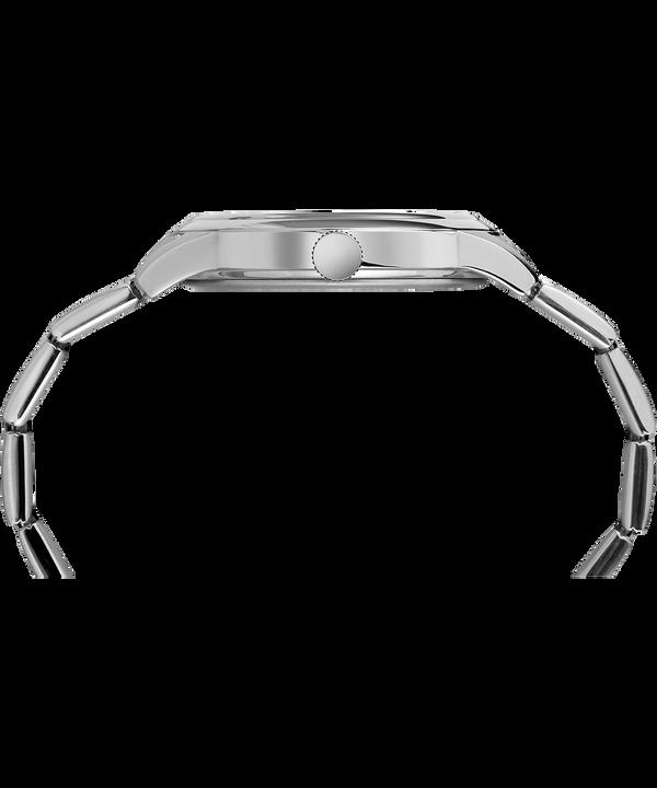 New England 40mm Bracelet Watch Silver-Tone/Black large