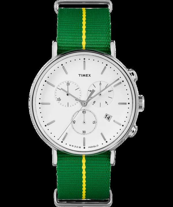 Fairfield Chronograph 41mm Nylon Strap Watch  large