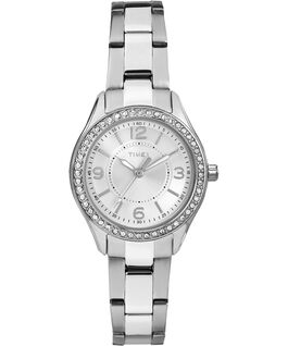 Miami Mini 30mm Stainless Steel Watch Silver-Tone/Stainless-Steel/White large