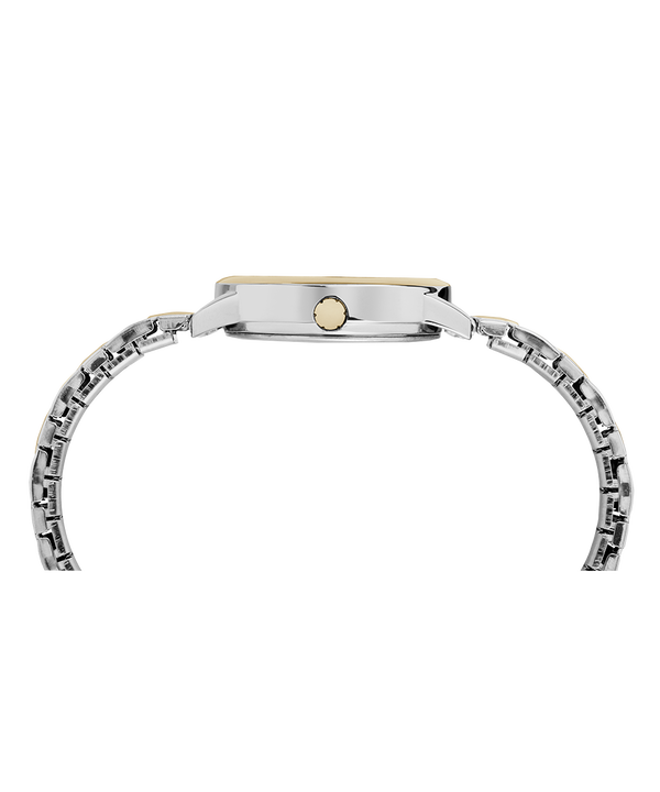 Easy Reader 30mm Expansion Band Watch Chrome/Two-Tone/White large