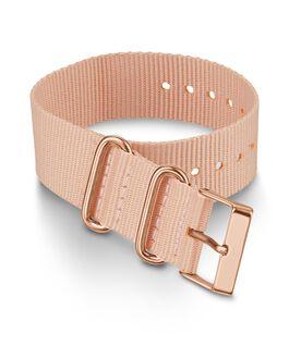 20mm Fabric Strap Slip Thru Single Layer Strap Pink large