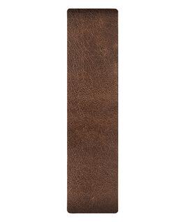 Brown / Bronze Edge Leather Slip-thru Strap  large