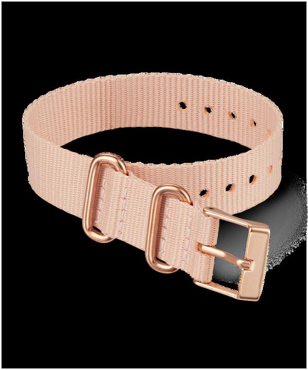 16mm Fabric Slip-Thru Single Layer Strap Pink large