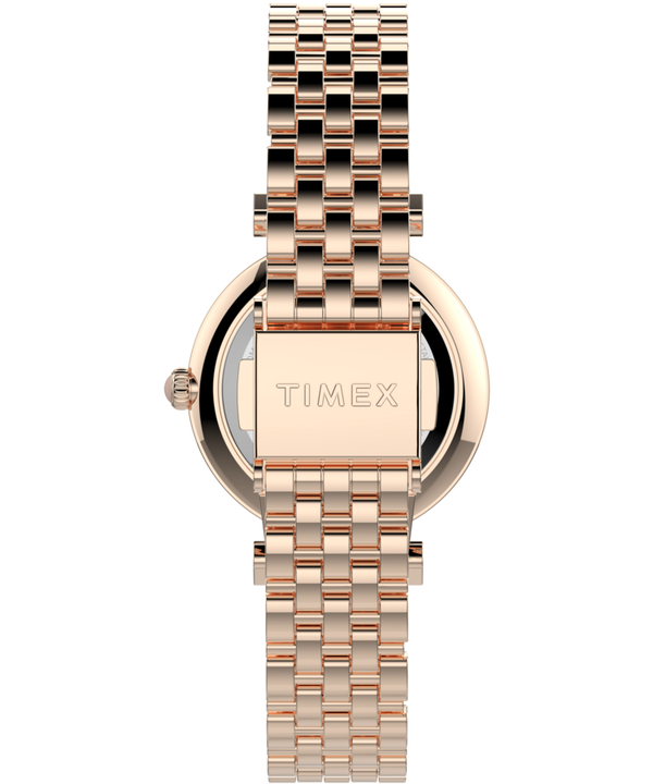 Parisienne 28mm Stainless Steel Bracelet Watch Rose-Gold-Tone/Mother-of-Pearl large