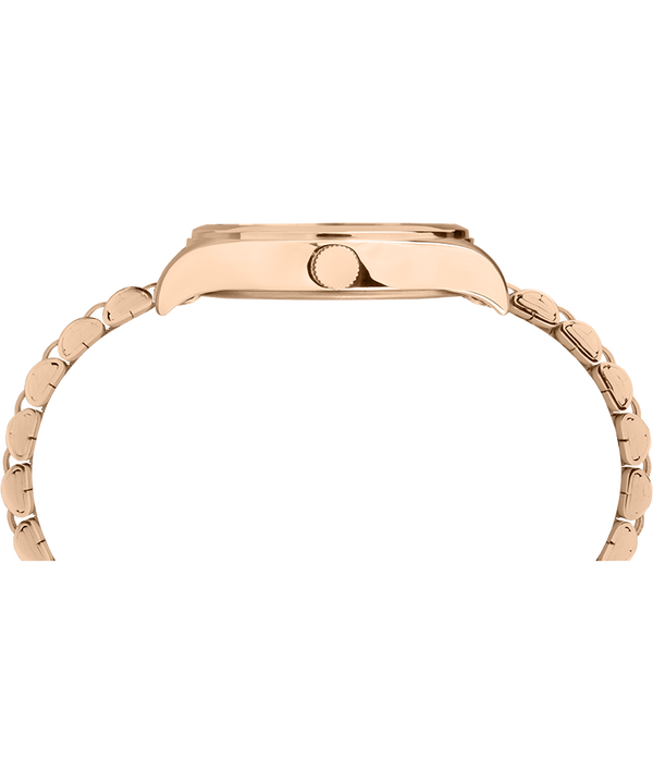 Waterbury Traditional 34mm Stainless Steel Bracelet Watch Rose-Gold-Tone/Cream large
