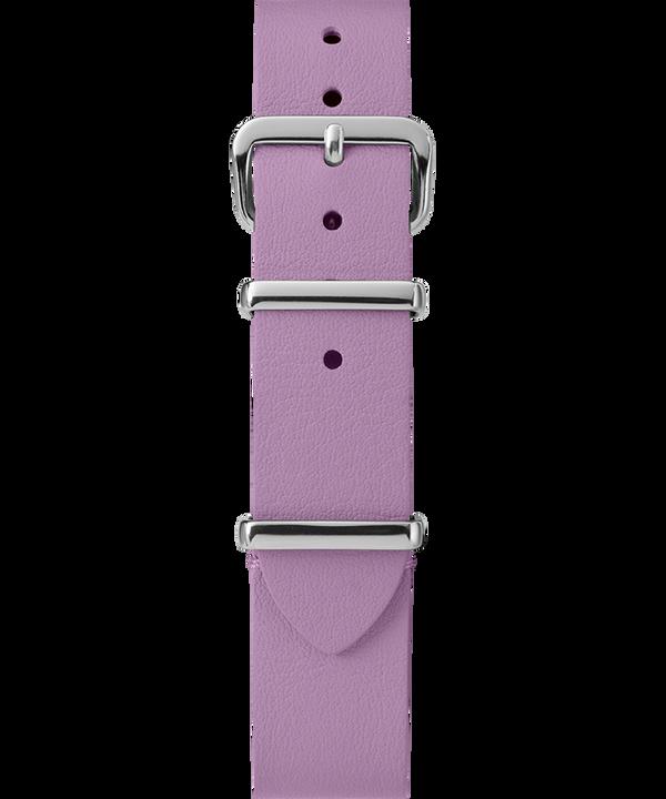 16mm Leather Slip-Thru Single Layer Strap Purple large
