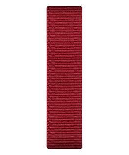 Red Nylon Slip-thru Strap  large