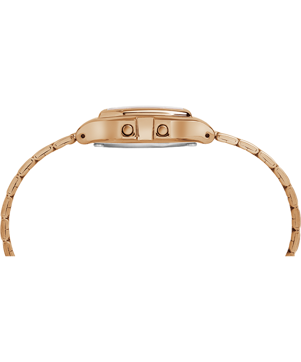 Digital Mini 27mm Bracelet Watch Rose-Gold-Tone large