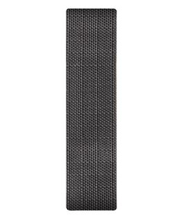 Gray Canvas Slip-thru Strap  large