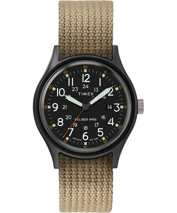 ArchiveMK1 Aluminum 40mm Fabric Strap Watch  large