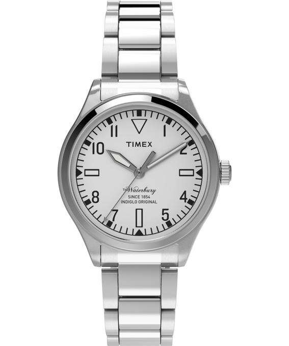 Waterbury Traditional 3 Hand 38mm Stainless Steel Watch  large