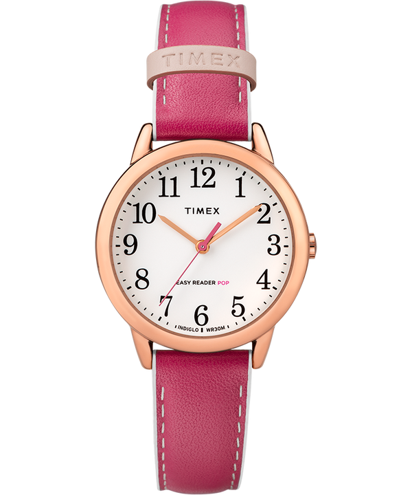 Easy-Reader-30mm-Exclusive-Color-Pop-Leather-Womens-Watch  large