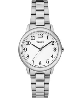 Easy Reader 30mm Stainless Steel Watch Silver-Tone/White large