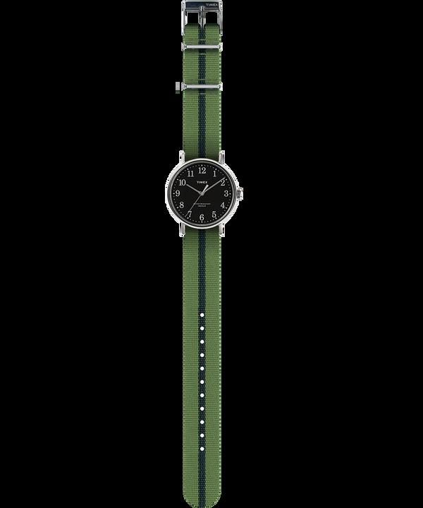 Fairfield Village 37mm Grosgrain Strap Watch  large