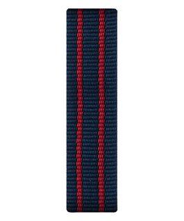Red/Blue Nylon Slip-thru Strap  large